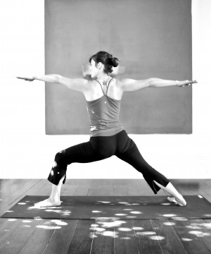 VIRABHADRASANA 2 BY FAITH FLANIGAN